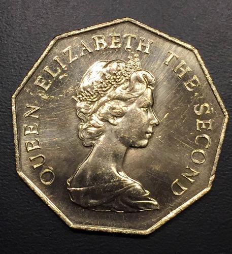 tuv014 moneda tuvalu 1 dollar 1985 unc-bu ayff