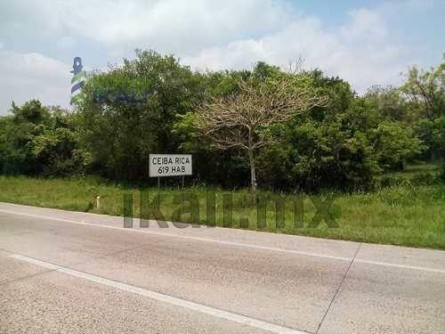 tuxpan terrenos en venta. ubicado en la carretera tuxpan-poza rica kilómetro 9, en la comunidad de ceiba rica, santa cruz zapotal veracruz, pasando la entrada club campestre,  sus medidas son 80 metr