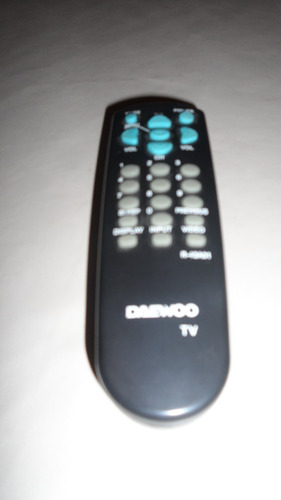 tv 14 pulgadas daewoo con base pared y control remoto