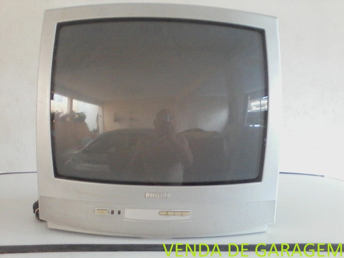 tv 20   philips funcionando perfeitamente c/ controle remoto