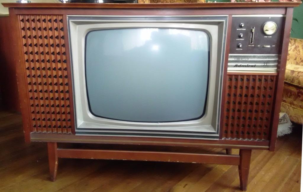 Tv 24 mueble marca admiral a os 70 oferta en mercado libre - Television anos 70 ...