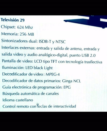 tv 29 pulgadas totalmente nuevo!!!