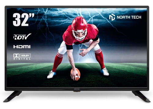 tv 32 led north tech hdmi hd