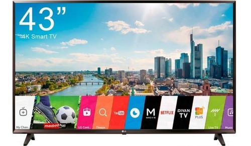 tv 43 lg uhd 4k 2019 uk6200 thinq ai webos 4.0 smart