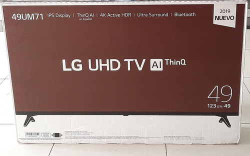 tv 49 lg 2019 uhd thinq ai inteligencia artificial