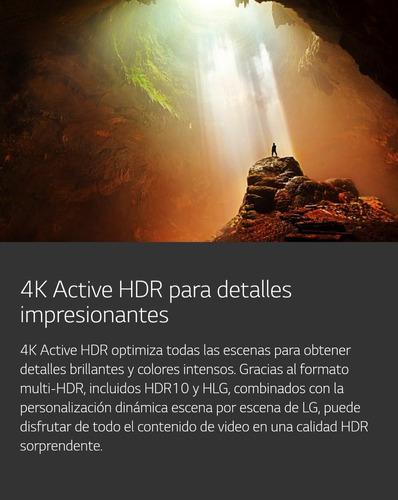 tv 49 lg smart uhd 4k ips hdr 10 thinq ai modelo nuevo