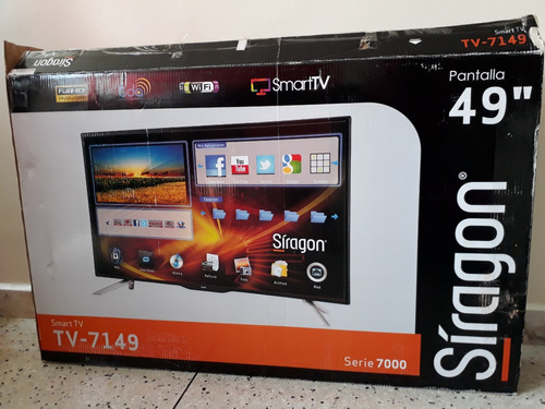 tv 49 pulgadas smart tv como nuevo