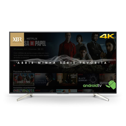 tv 4k hdr smart android tv led xbr-70x835f série x835f