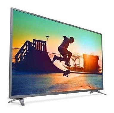 tv 55p philips led smart 4k usb hdmi - 55pug6513