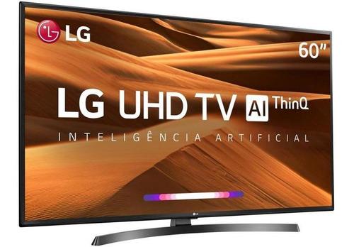 tv 60'' lcd lg um7270 ultra hd 4k - hdr ativo thinq ai