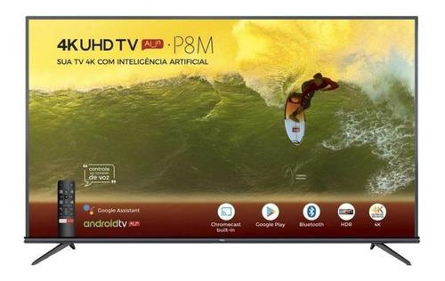 tv 65'' led tcl 65p8m ultra hd 4k - smart tv hdr