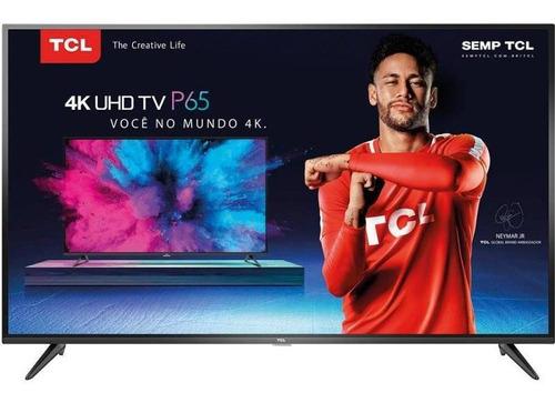 tv 65'' led tcl p65us ultra hd 4k - smart tv hdr