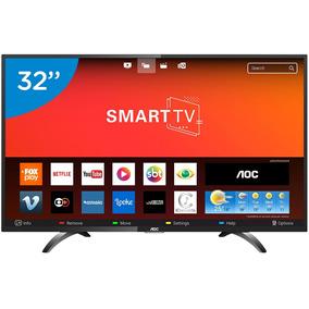 0362f4fea6db8 Smart Tv Led 32 Polegadas Aoc Le32s5970s Hd Wifi 2 Usb 3 Hdm