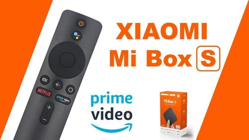 tv android xiaomi mi box s - 4k - deliverys - boleta factura