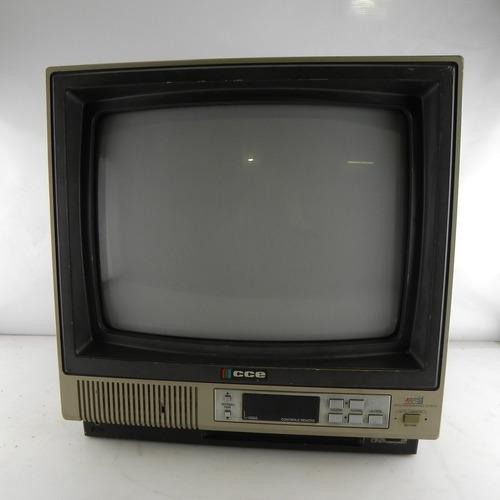 tv antiga cce hps 14 colorida decoração anos 90  funcionando
