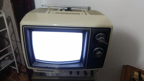 tv antiga semp toshiba colorida funcionando