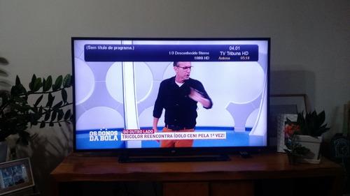 tv aoc 48  led, usada, preservada,  não  é smart tv! linda!