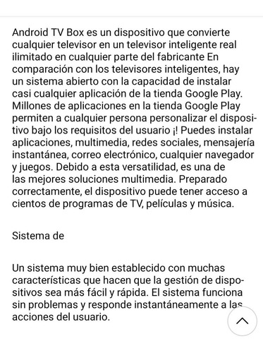 tv box 4gb/32 android actualizable munro