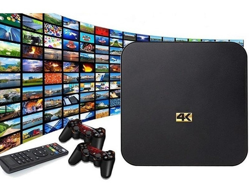 tv box 4k 1gb ram 8gb interna android ¡potentisimo! oferta