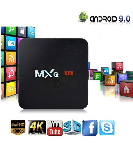 tv box 4k convertidor 4gb ram + 64gb rom sistema android 9.0