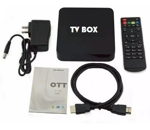 tv box 4k potente 4gb ram + 32 gb rom sistema android 9.0