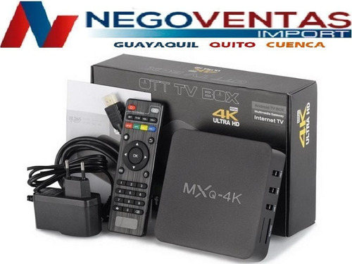 tv box 4k pro android 7.1 convierte tu tv a smart 8g memoria