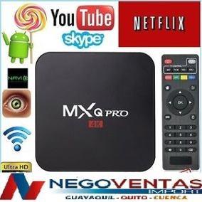 tv box 4k pro android 7.1 convierte tu tv a smart 8g memoria