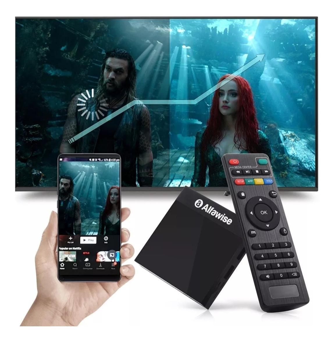 Tv Box A9 Android 8 1 2gb Ram 16gb Mem Wifi Control Omm