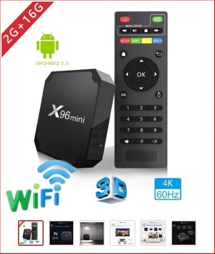 tv box android 16 gb 2 gb ram zona munro