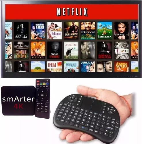 tv box android 6 convertidor smart tv mini tv combo teclado