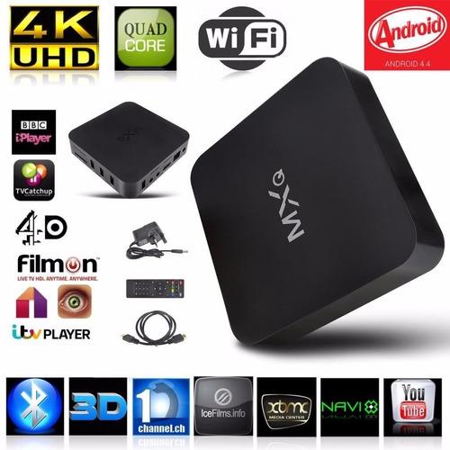 tv box android 6.0 convierte tu tv normal ensmart tv  v88 4k