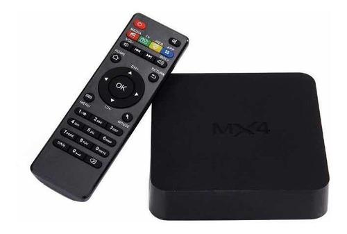 tv box android 7.1 4k convierte en smart tv+ envío promocio
