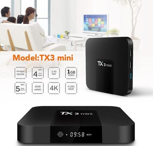 tv box android conversor a smart tv teclado tv lcd + teclado
