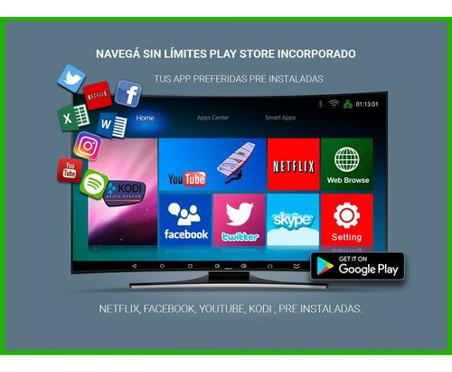 tv box android convertidor smart tv mini tv combo teclado