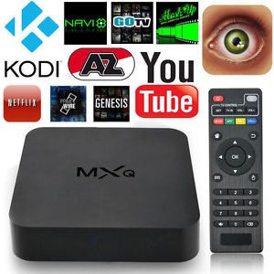 tv box android mxq 4k convertidor a smartv wifi usb hdmi sd