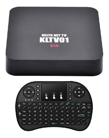 Tv Box Android Smarter Kit Hdmi Full Hd Smart Tv + Control