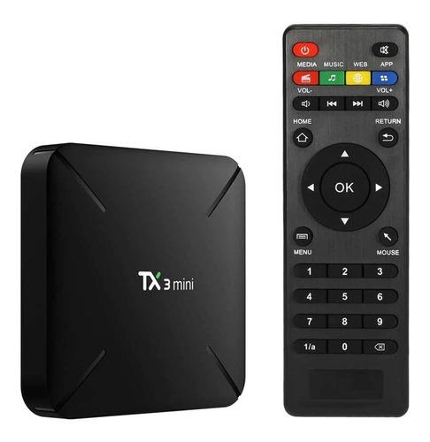 tv box convierte tu tv a smart tv incluye canales gratis
