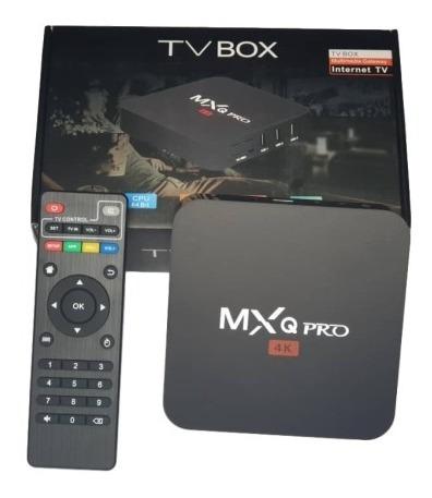 tv box convierte tv en smart 4k tv por internet mqx pro 4k