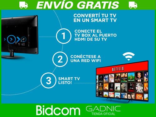 tv box gadnix 1080p full hd netflix hdmi peliculas smart tv