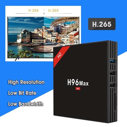 tv box h96 max h2  android 7.1 4gb /32gb bt 4.0 usb 3.0