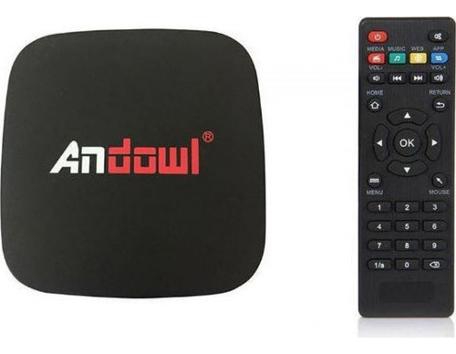 tv box lite 4k 2gb / 16gb android 8.1 + teclado inalámbrico
