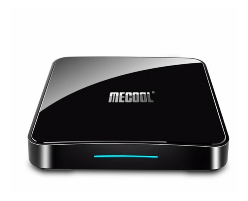 tv box mecool km3 c/voz  android 9.0 certificado 4gb 64gb