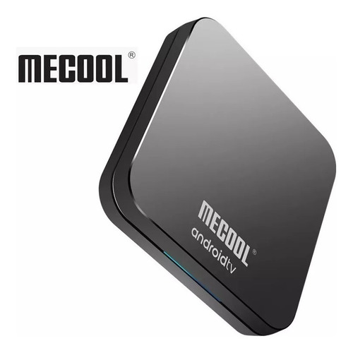 tv box mecool km9pro c/voz  android 9.0 certificado 4gb 32gb