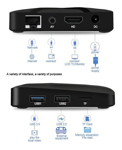 tv box mini mx 10 2gb ram- 16gb androit