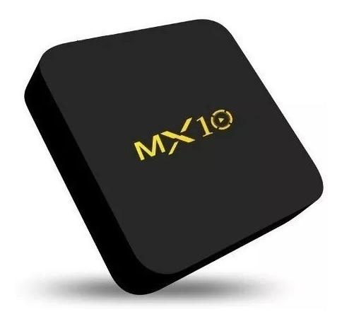 tv box mx10 4gb ram /32gb interno rk3328 quad-core