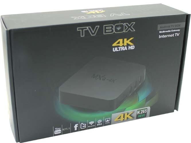 Tv Box Mxq 4k 4k Ultra Hd Quad Core Wifi Hdmi Usb
