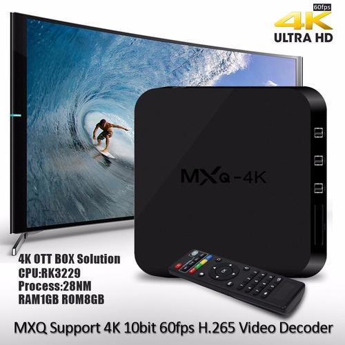 tv box mxq 4k android 6 convierte tu tv en smart - youtube
