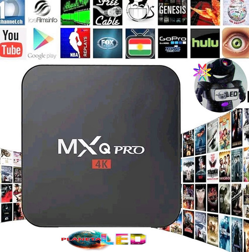 tv box mxq 4k android 7.1 smart tv convierte tu tv en smart