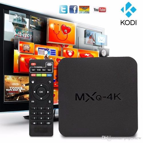 tv box mxq 4k android convierte tu tv en smart, netflix kodi