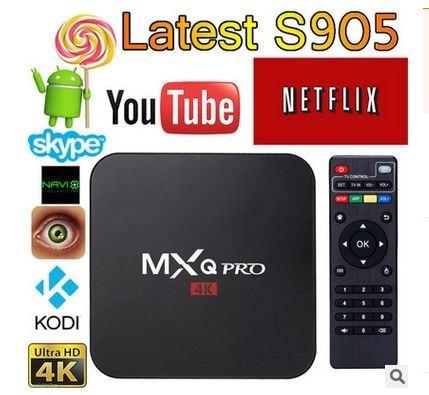 tv box mxq 4k pro android 7.0 kodi impoasia
